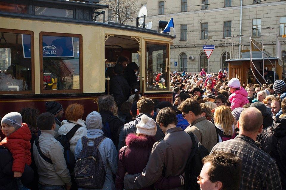 Парад трамваев наЧистыхпрудах. Изображение № 10.