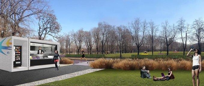 Wowhaus разработали концепцию развития Лужнецкой набережной. Изображение № 1.