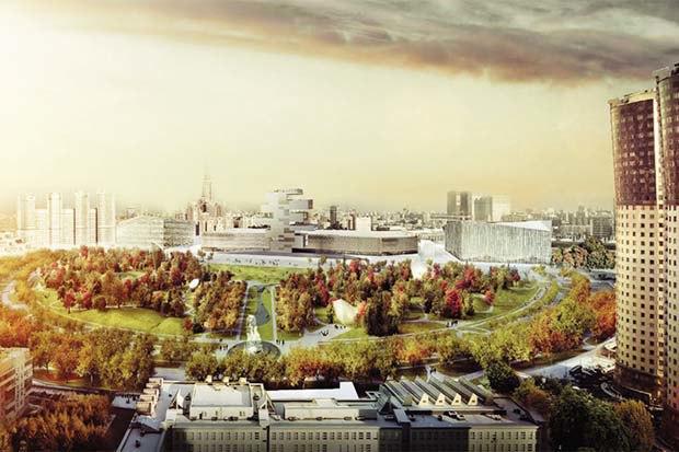Парк «Ходынское поле» построят попроекту LAND Milano Srl.. Изображение № 1.