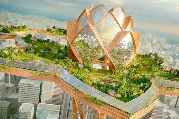 Иностранный опыт: 8 фантастических городских проектов. Изображение № 26.