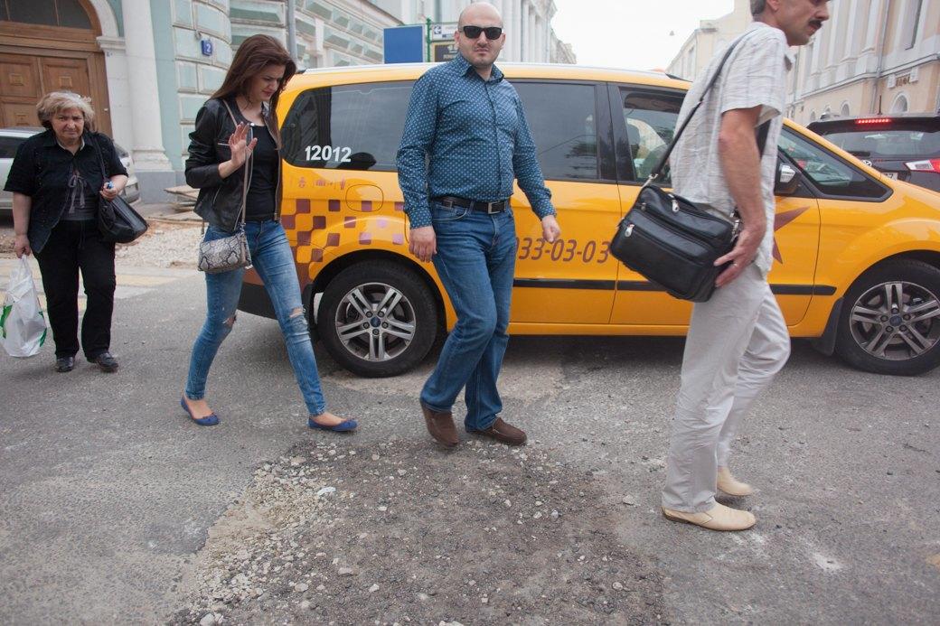 Её раскопали: Пешеходные улицы Москвы за месяц до открытия. Изображение № 29.