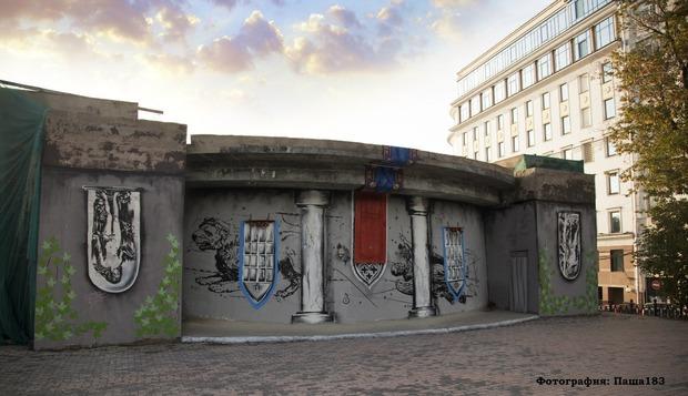Паша 183, здание заброшенного ресторана, Рождественский бульвар, д. 1. Победитель в номинации «Особый взгляд». Изображение № 6.