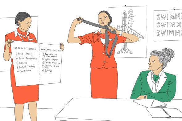 Как всё устроено: Работа стюардессы. Изображение № 2.