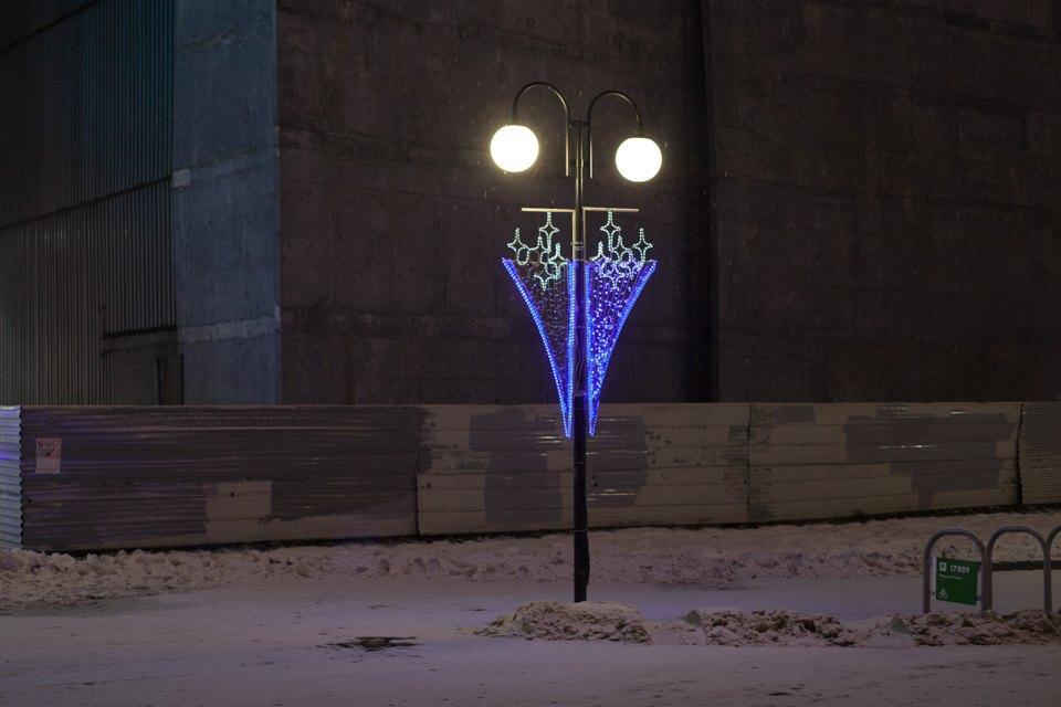 Как украсили Москву кНовому году. Изображение № 32.