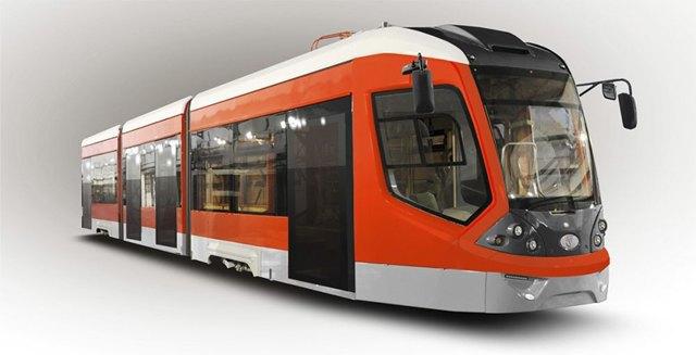 Летом вПетербурге протестируют новый трамвай. Изображение № 1.