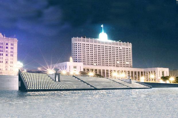 Берега-утопии: Какой могла бы быть Москва-река. Изображение № 14.