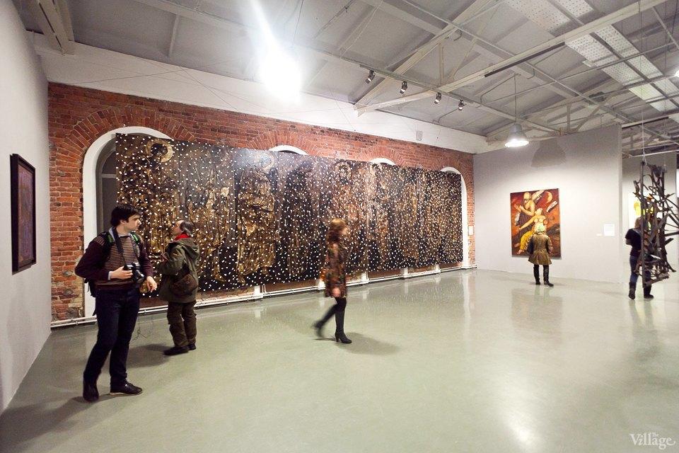 Люди в городе: Первые посетители выставки Icons в Петербурге. Изображение № 23.