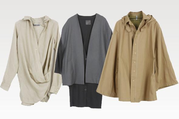 Слева направо: кардиган, 3 950 р., платье, 9 170 р., кейп, 3 950 р. Все цены указаны с учетом скидок.. Изображение № 8.