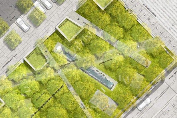 Как будет выглядеть Триумфальнаяплощадь: Три концепции финалистов. Изображение № 3.