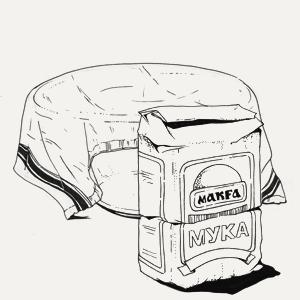 Белый квас изкафе LavkaLavka. Изображение № 3.