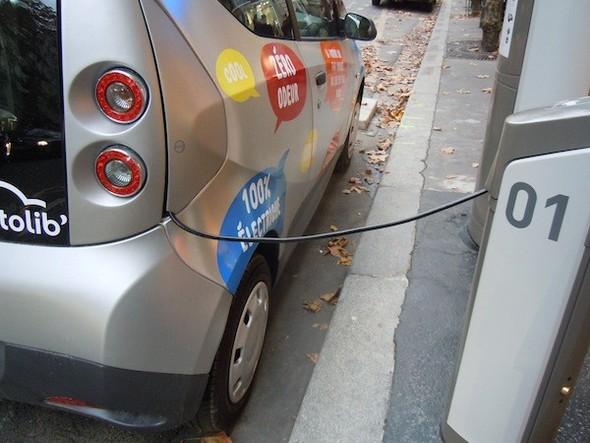 Иностранный опыт: Прокат электромобилей в Париже. Изображение № 17.