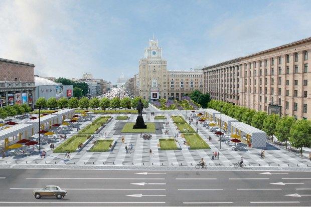 Директор Buromoscow обудущем Триумфальной площади. Изображение № 2.
