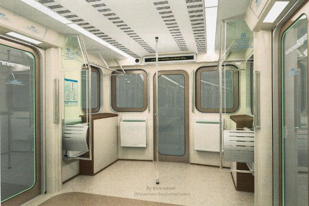 Дизайнеры предложили Метрополитену проект новых вагонов. Изображение № 3.
