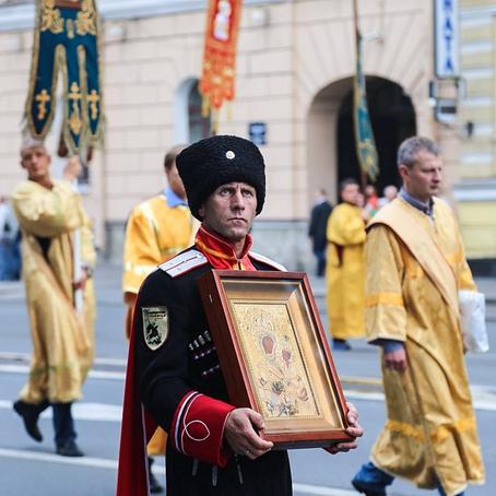 Крестный ход поНевскому проспекту. Изображение № 2.
