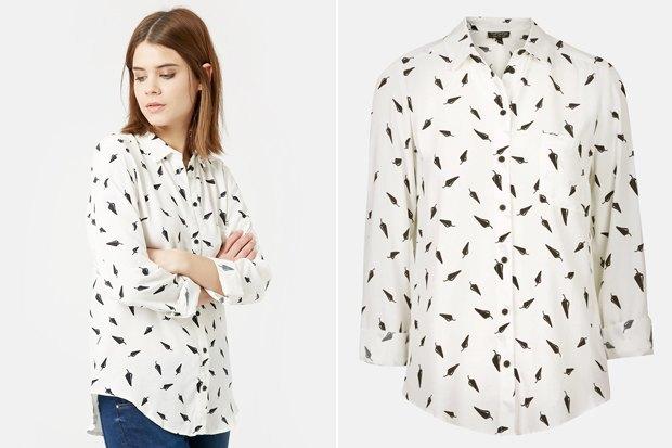 Где купить женскую рубашку: 6вариантов от 2500 до 7900рублей. Изображение № 4.