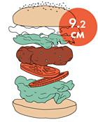 Между булок: что внутри у самых больших московских бургеров, часть 1. Изображение № 90.