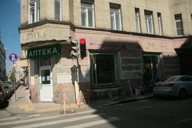 """Вывеска до реставрации, фото: """"Архнадзор"""". Изображение № 2."""
