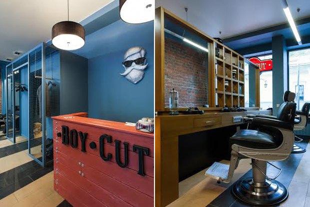 На Маросейке открылась мужская парикмахерская Boy Cut. Изображение № 2.