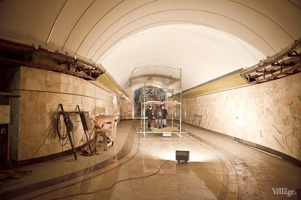 Фоторепортаж: Станция метро «Адмиралтейская» изнутри. Изображение № 18.