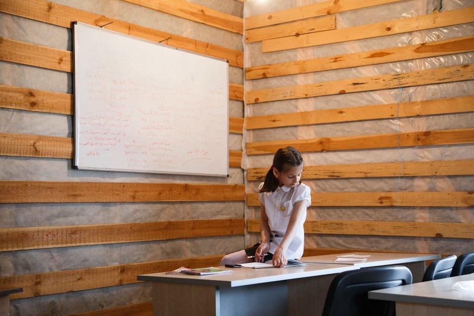 Дети, которых нет: Как проходят занятия в ногинской школе для сирийских беженцев. Изображение № 2.