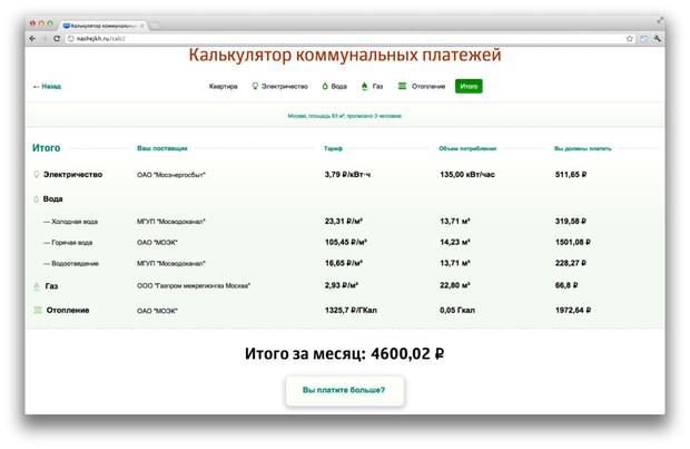 Студия Лебедева сделала сайт «Наше ЖКХ». Изображение № 5.