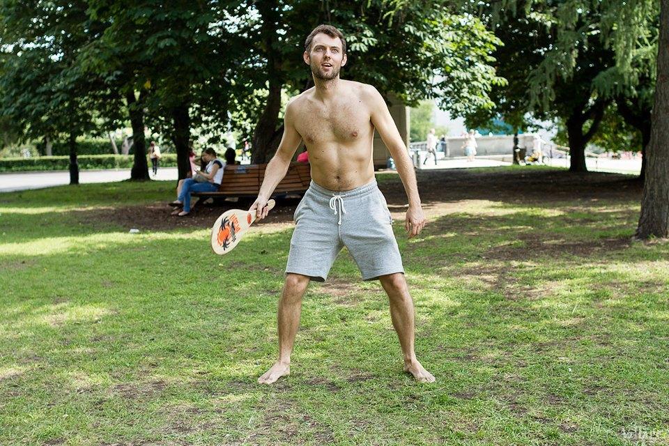 Люди в городе: Играющие в парках. Изображение № 1.