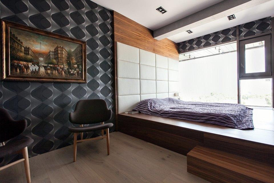 Мужская квартира с панорамным видом на город. Изображение № 28.