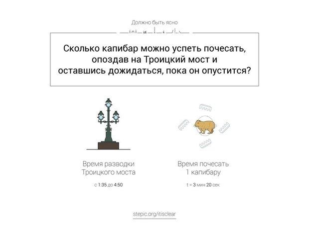 Петербургский иллюстратор придумал серию математических задач погородским сюжетам . Изображение № 6.