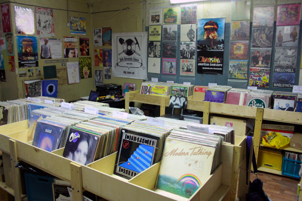 В Политехе открылся обновлённый магазин винила Dig. Изображение № 2.