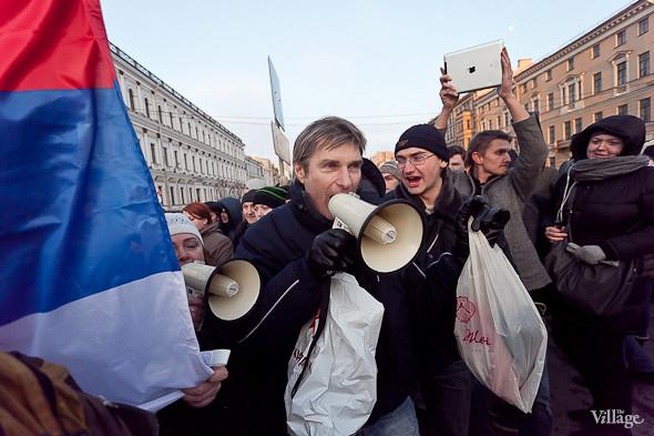 Фоторепортаж: Митинг 5 марта на Исаакиевской площади. Изображение № 9.