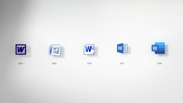 Дизайн дня. Иконка Word без листка бумаги иобновленные значки приложений Office
