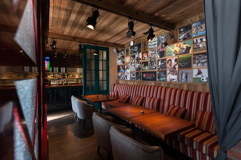Футбольный бар-ресторан Soccer Place на Добролюбова. Изображение № 4.