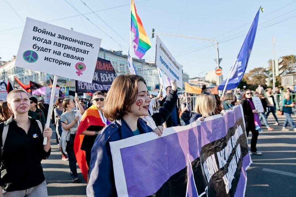 Участники и лозунги «Марша мира». Изображение № 11.