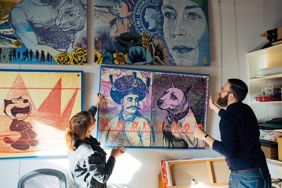 Как дизайнеры стали делать плакаты для дома. Изображение № 3.