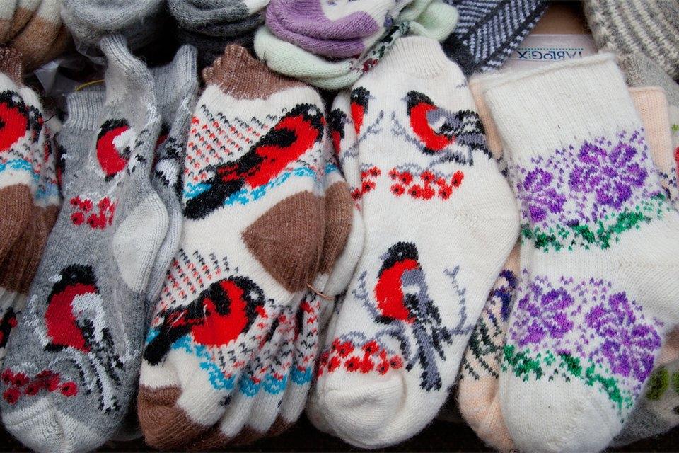 Кто продаёт шерстяные носки наулицах Москвы. Изображение № 4.