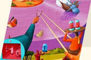 День города, московская книжная ярмарка ипервая выставка Муджуса. Изображение № 8.