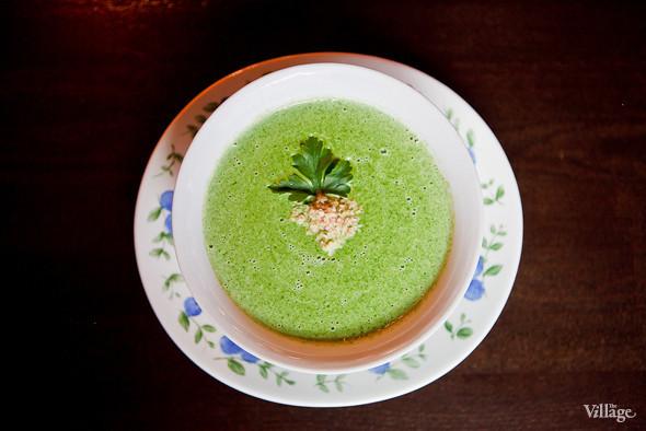 Крем-суп со шпинатом — 120 рублей. Изображение № 26.