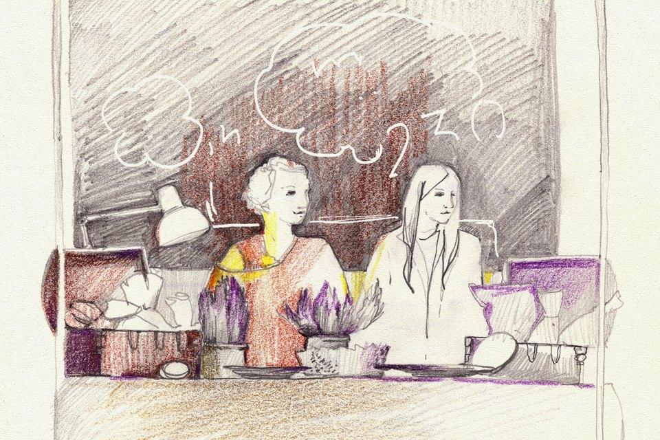 Клуб рисовальщиков: Городской маркет еды на Соколе. Изображение № 12.