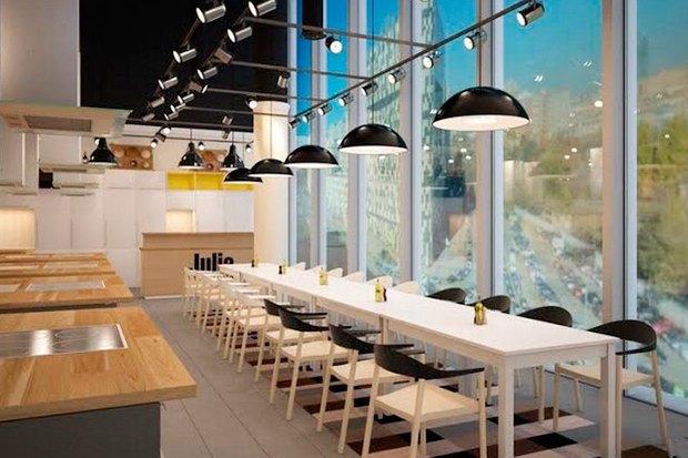 Фуд-корт LavkaLavkа, кафе «Зелёная собака», званые ужины вSaxon+Parole. Изображение № 6.