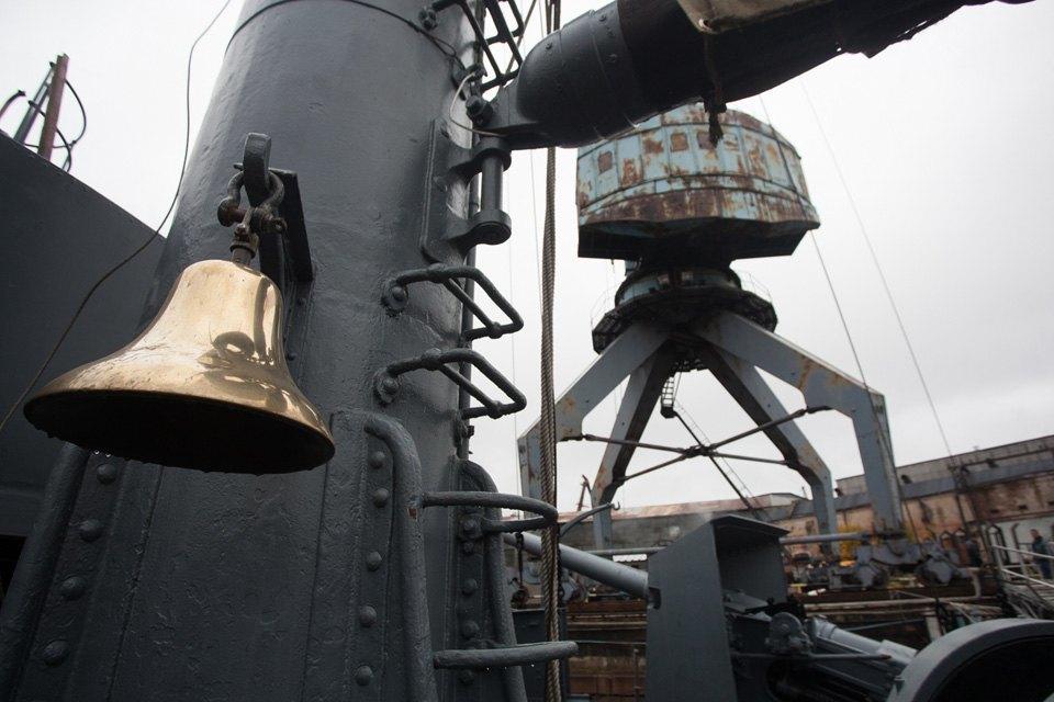 Как ремонтируют крейсер «Аврора». Изображение № 6.