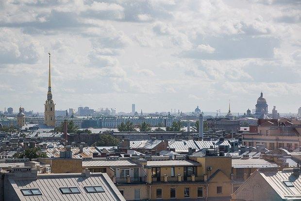 Накрыше комплекса «Толстой сквер» открылся панорамный ресторан . Изображение № 2.