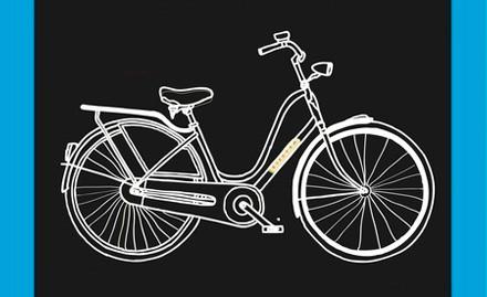 Иллюстрация к афише Петроградской велоночи. Изображение № 1.