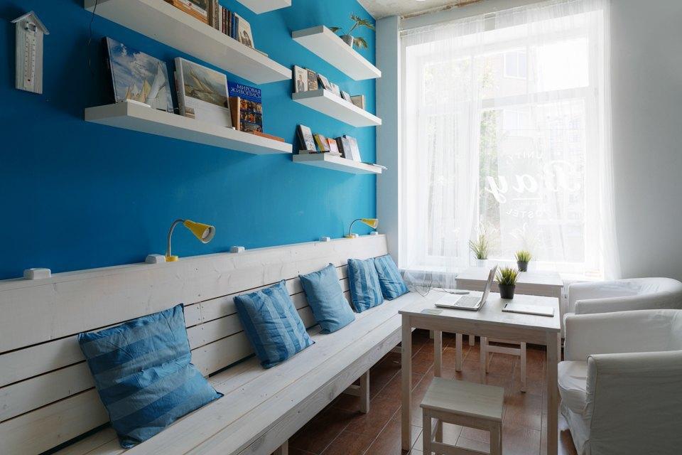 Хостел на«Белорусской» сномерами-каютами идвухэтажной двуспальной кроватью. Изображение № 5.