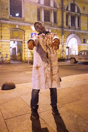 Люди в городе: Хеллоуин вПетербурге. Изображение № 13.