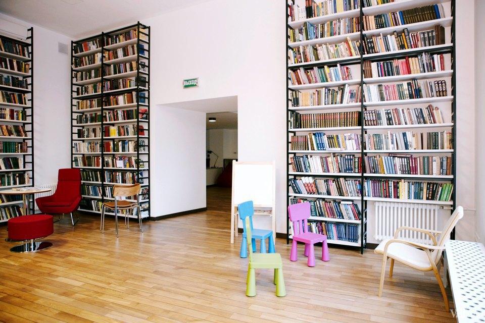 Фото дня: Как выглядит современная библиотека. Изображение № 22.