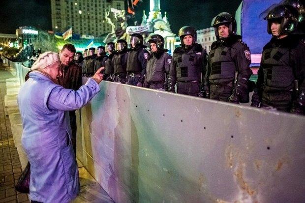 Курс — евро: Как уличные протесты изменили Киев. Изображение № 4.