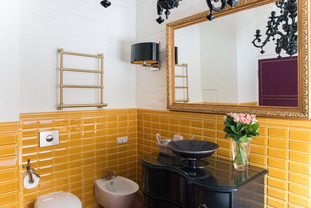Квартира в Хамовниках с лепниной и ковром ручной работы . Изображение № 9.
