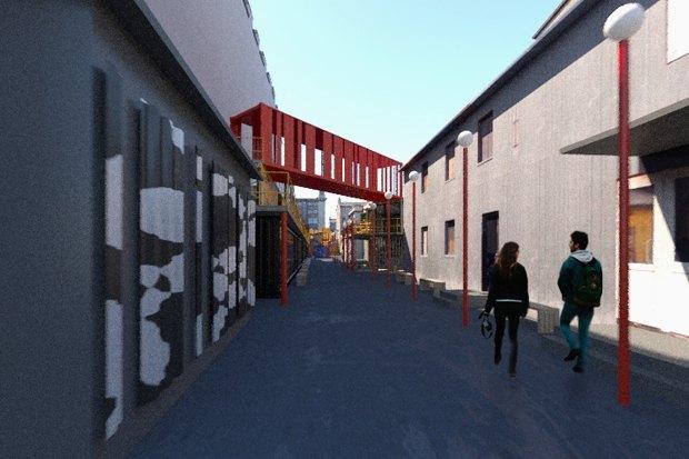 Горизонтальный проект: Коммерческий директор «Лофт Проекта Этажи» — про бизнес-центр изконтейнеров. Изображение № 5.