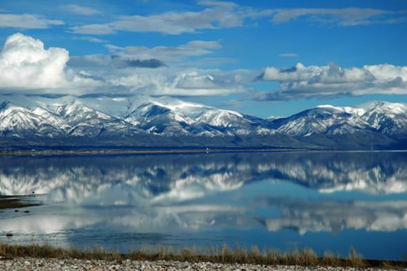 Великие соляные озера в штате Юта. Изображение № 23.
