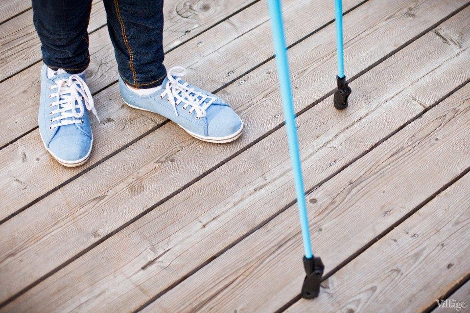 Люди в городе: Кто занимается скандинавской ходьбой. Изображение № 5.